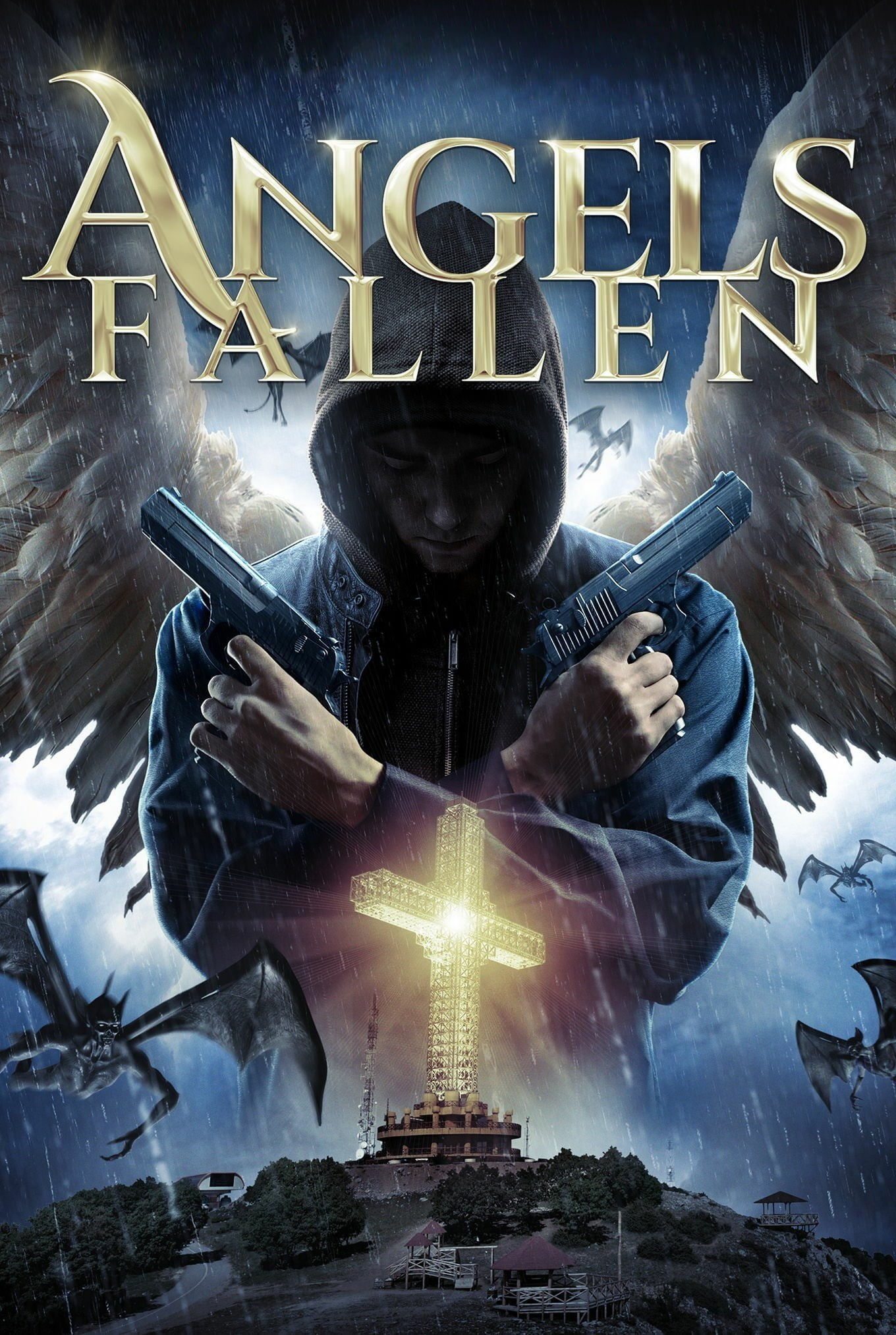 "Poster for the movie ""Angels Fallen"""