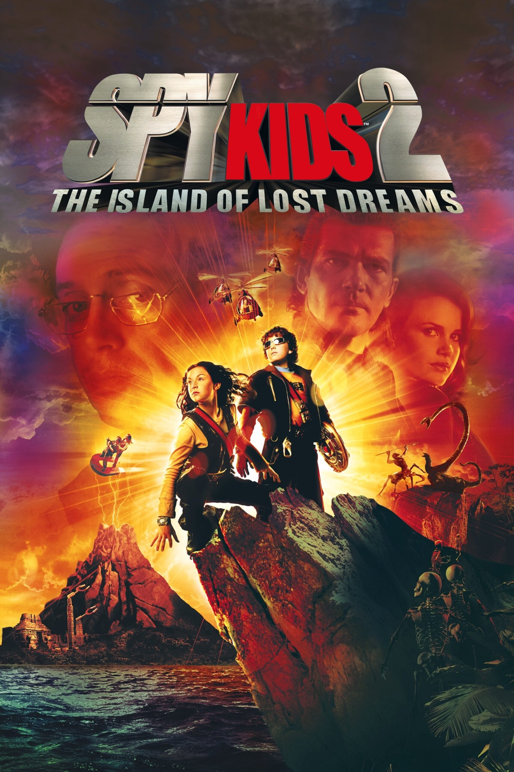 "Poster for the movie ""Spy Kids 2: The Island of Lost Dreams"""