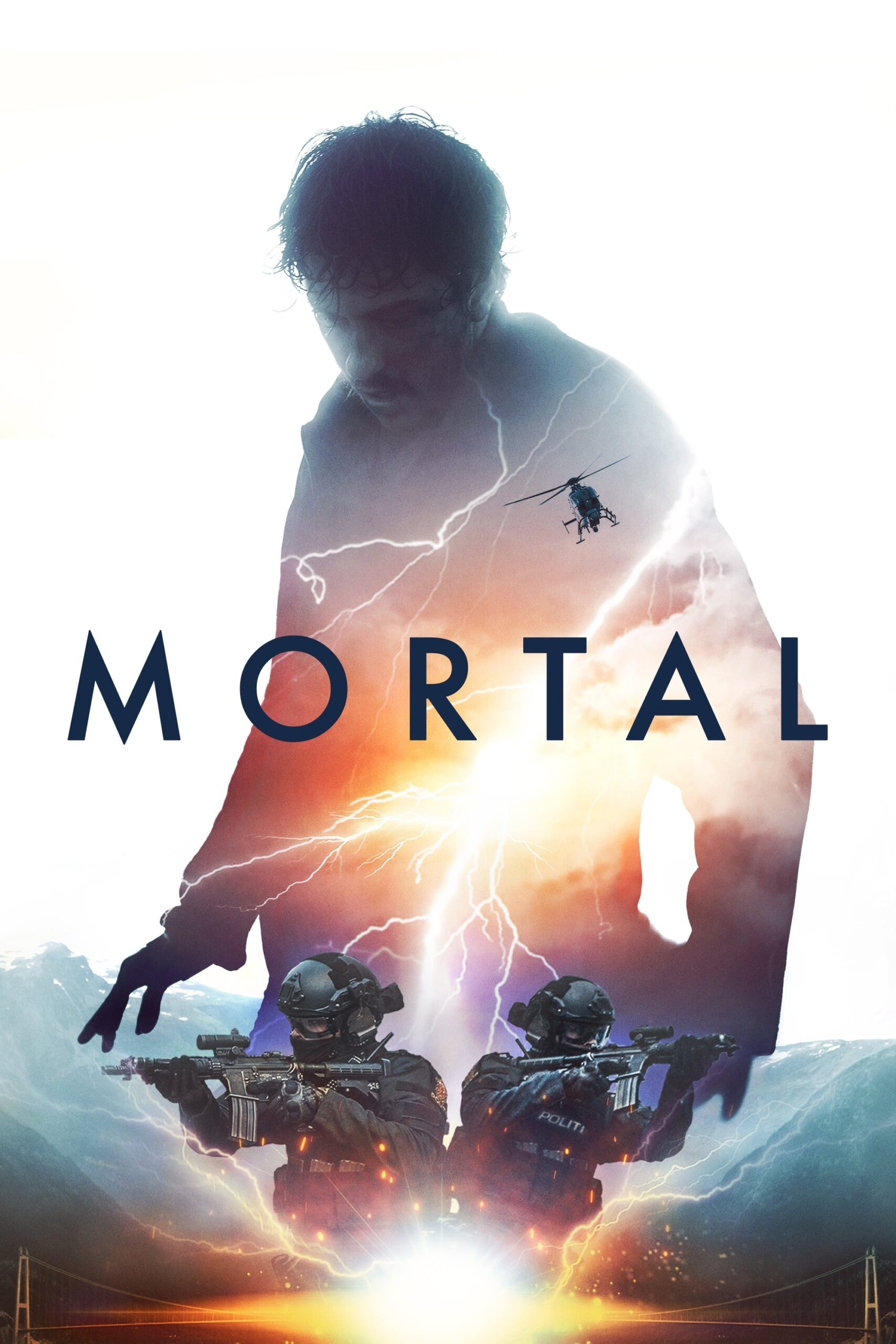 "Poster for the movie ""Mortal"""