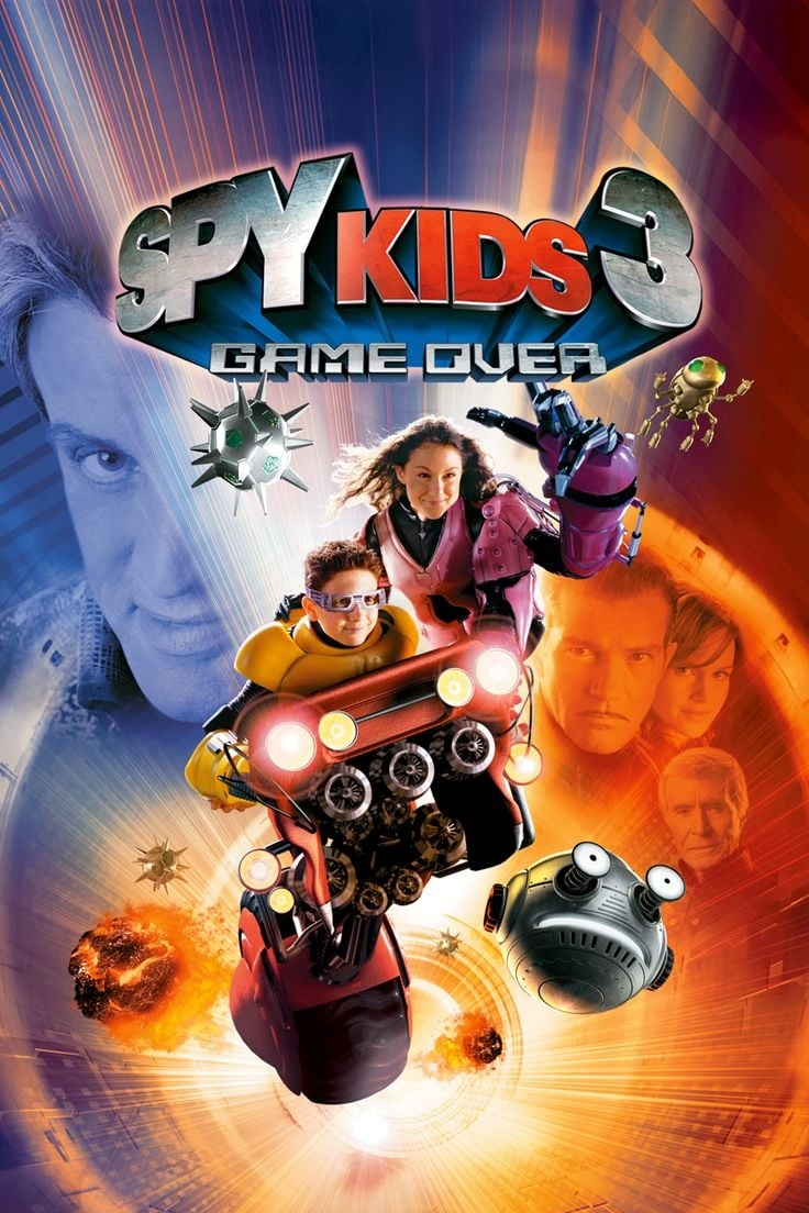 "Poster for the movie ""Spy Kids 3-D: Game Over"""
